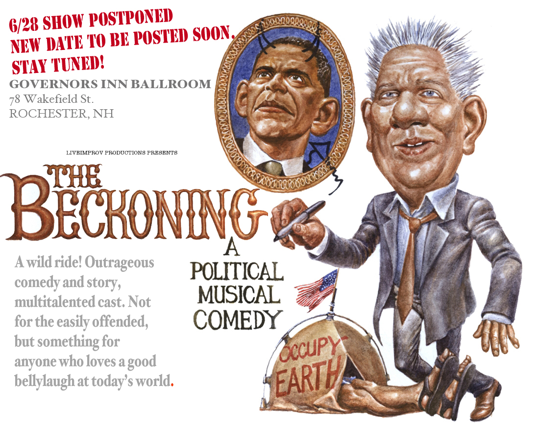 the beckoning political comedy satire musical